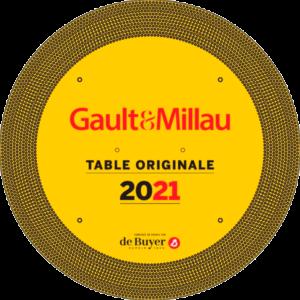 gault et millau table originale 2021 - La Manne Céleste Restaurant et pizzeria